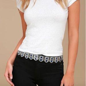 Lulus chain belt